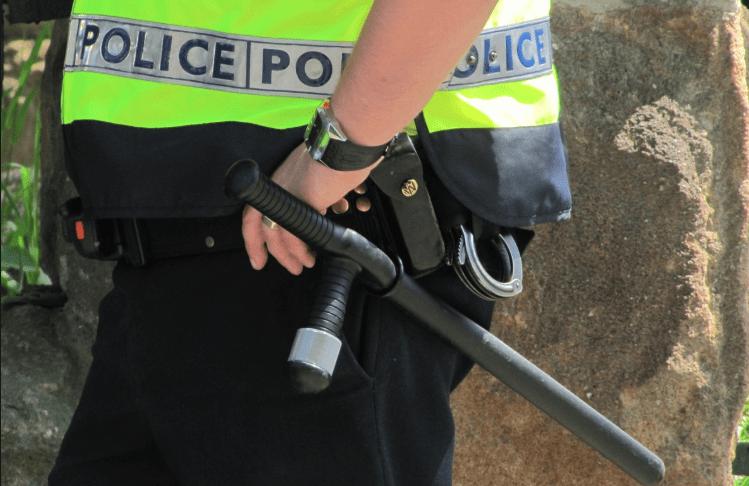 British police baton