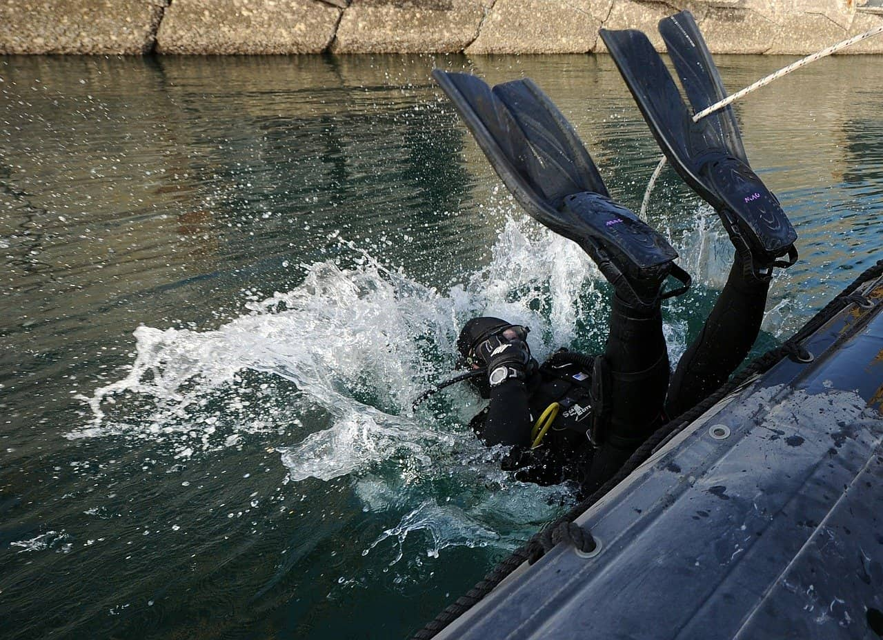 How to Become a Frogman