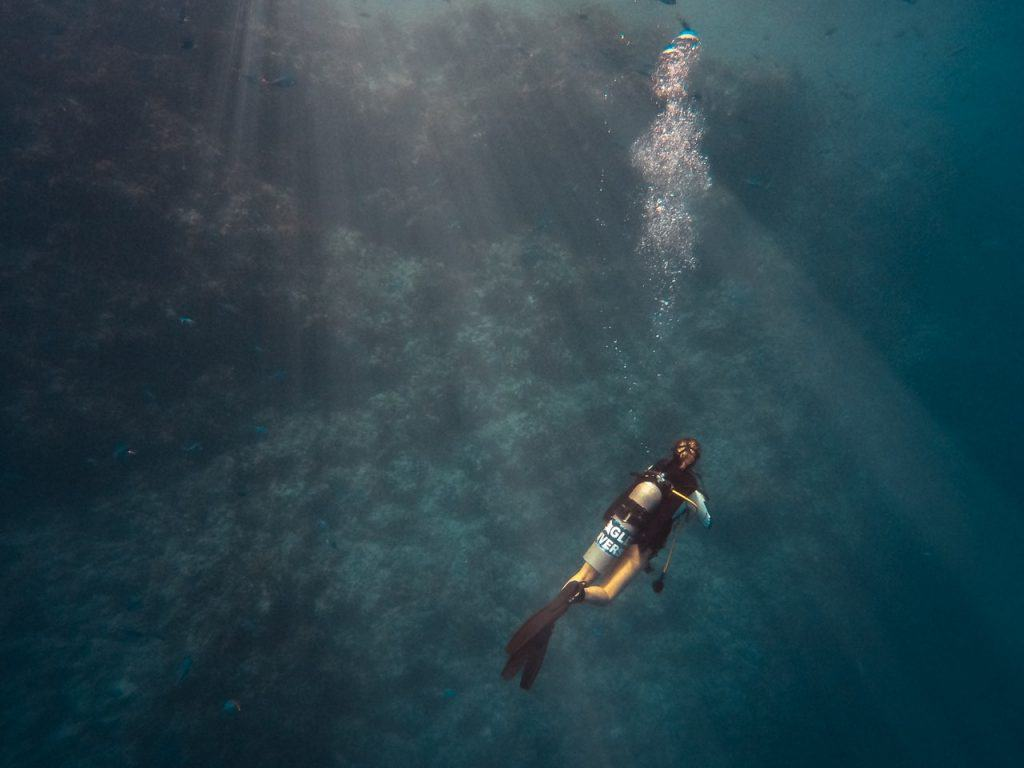 7 Steps to Stay Calm While Diving